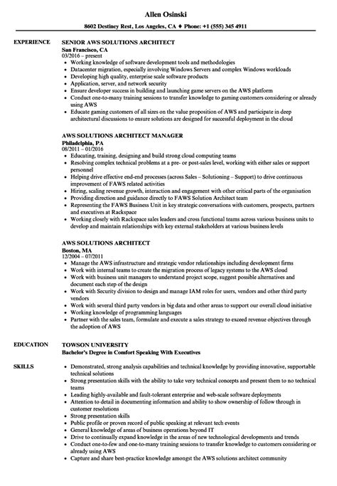 comfortable solution architect resume pdf gallery