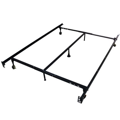 adjustable twin bed frame homegear heavy duty 7 leg metal platform bed frame