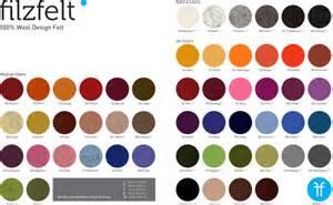 sized filzfelt color guide 2011 1 design notes