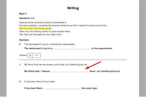 test inglese b1 gratis c 243 mo aprobar el writing examen de cambridge b1 pet 1