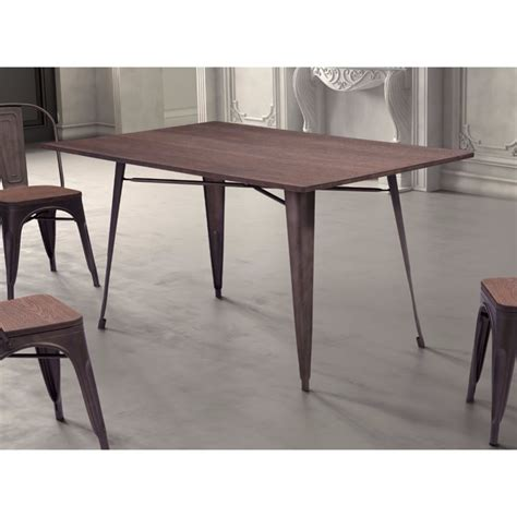 Zuo Dining Table Shopping Zuo Titus Rectangul Dining Table In Rustic Wood