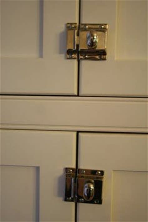 kitchen cabinet latches great idea for kitchen cabinets to keep doors closed