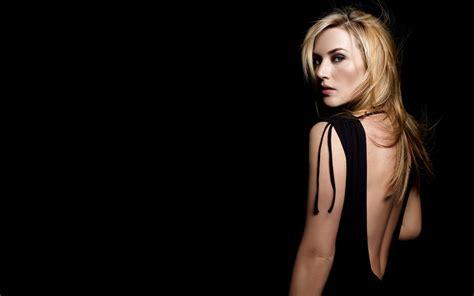 Kate Winslet Slams Ultra Models Glamorization by Kate Winslet Backless Photoshoot Hd Wallpaper