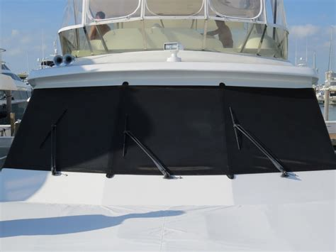 padded boat windshield cover gds canvas and upholstery - Boat Canvas Windshield