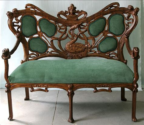 jugendstil sofa amazing nouveau settee well excuse me but i think