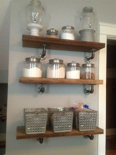custom industrial style shelves by co llc