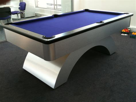 pool bench black cushion rail with blue cloth arched uk pool table