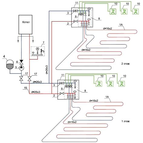 wiring diagram for underfloor heating electric underfloor