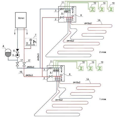 underfloor heating wiring diagrams 34 wiring diagram