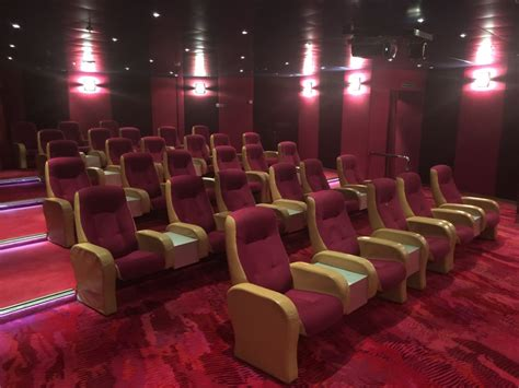 The Room Screening Activity On America Oosterdam Cruise Ship Cruise
