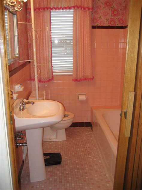 old pink bathroom 40 vintage pink bathroom tile ideas and pictures
