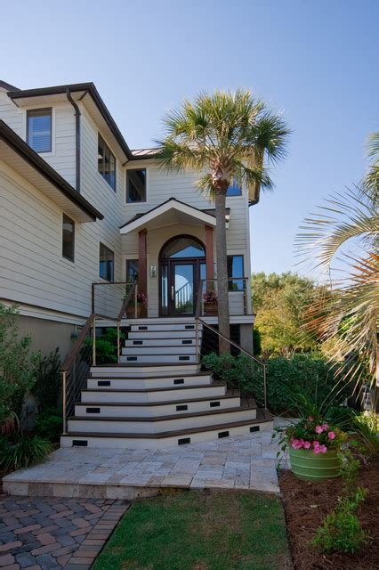 modern beach house houzz modern island beach home exterior tropical exterior