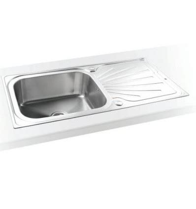 compact sinks kitchen sapphire compact single bowl drainer inset kitchen sink