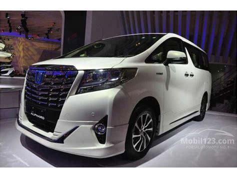 Harga Vans Indonesia 2018 jual mobil toyota alphard 2018 g 2 5 di dki jakarta