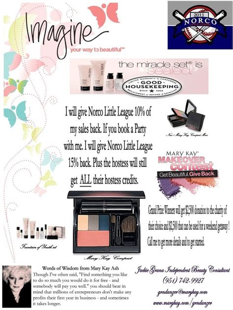 mary kay fundraiser flyers quotes places to visit