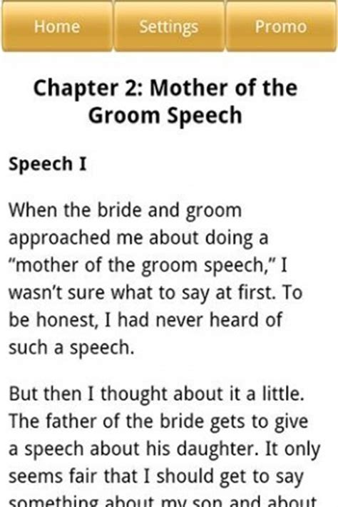 layout of groom wedding speech download wedding speeches for mother for android appszoom