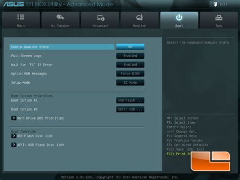 Asus Laptop Bios Change Boot Order asus p8z68 v pro motherboard review page 4 of 15 legit reviewsasus p8z68 v pro system uefi bios