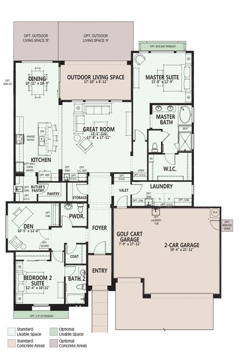 robson pebble creek floor plans luxury retirement luxury retirement communities for active adults and 55
