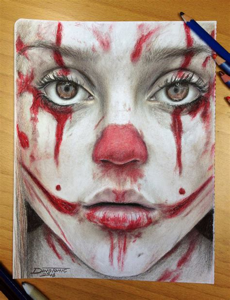 color pencil drawing by atomiccircus on deviantart