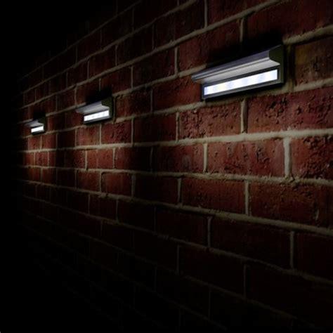 solar garden wall lights kensington solar powered wall light