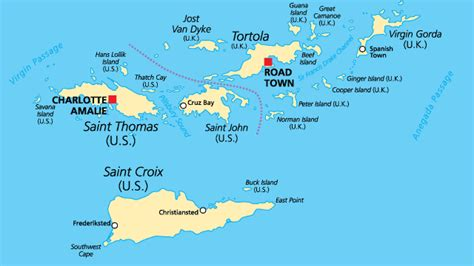 map usvi where is the u s islands geography