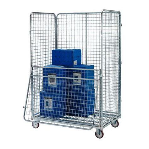 portata container roll container maxiroll vrac base in acciaio portata