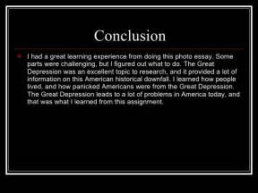 Great Depression Essay by The Great Depression Power Point