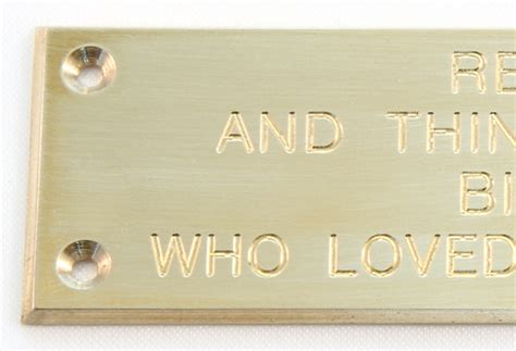 brass plaques for benches brass plaques for benches 28 images engraved sign
