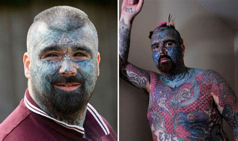 most tattooed man britain s most tattooed to get for brand new