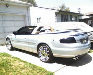 2001 Chrysler Sebring Convertible Top Lilp303 2001 Chrysler Sebringlimited Convertible 2d Specs