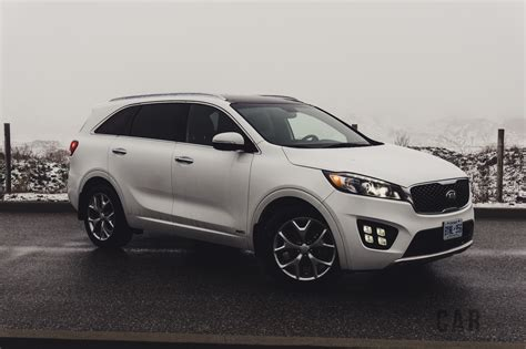 2016 Kia Sorento Review 2016 Kia Sorento Sx Turbo Awd Canadian Auto Review