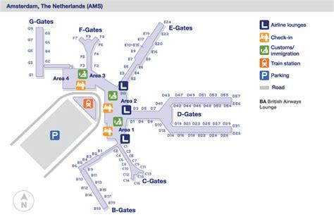 Zurich Airport Floor Plan amsterdam pays bas