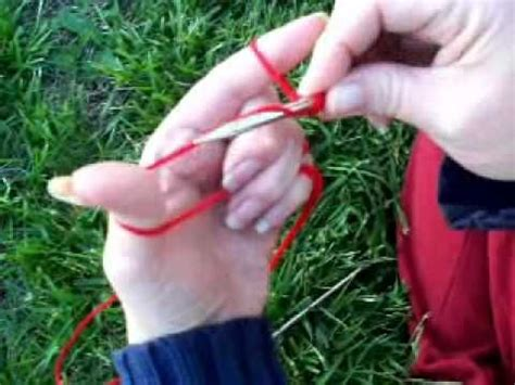 german knitting alternating knit purl cast on german twisted