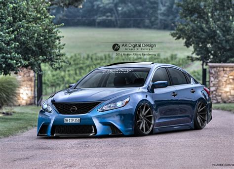 nissan modified nissan altima 2016 modified tuning