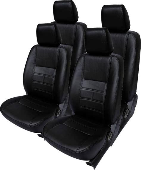 leatherette seat covers india gaadikart leatherette car seat cover for maruti celerio