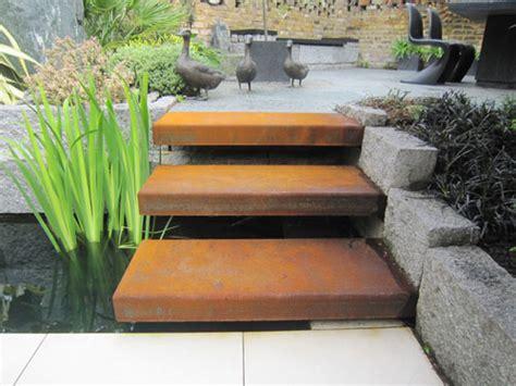 steel garden architectural metalwork design corten steel