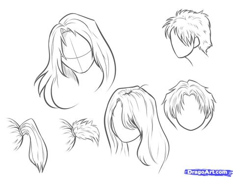 drawing hairstyles pdf how to draw hair step by step hair people free online