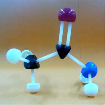 cadena carbonada maqueta acetamida