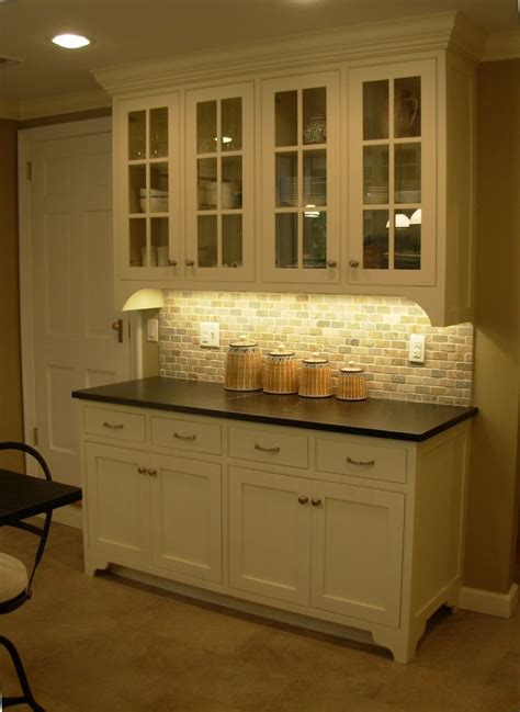Buffet Kitchen Cabinet Cabinets Inset Painted Maple Oxford Cabinet Shop Backslash 1 Quot X2 Quot Quartzite Walker