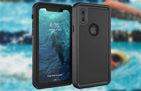 r iphone x waterproof best iphone x waterproof cases enjoy swimming with complete freedom