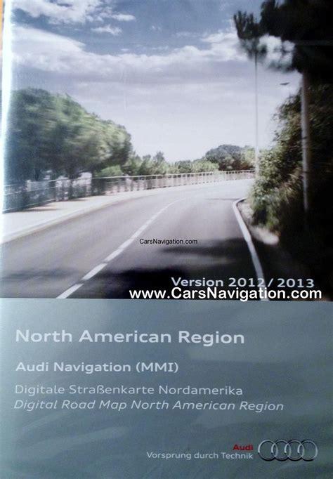 america map dvd mmi version 11 2012 2013 audi mmi 2g navigation dvd america