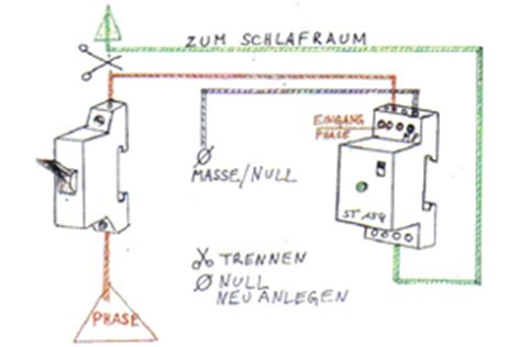 netzfreischaltung schlafzimmer anleitung einbau und funktion eines netzfreischalters
