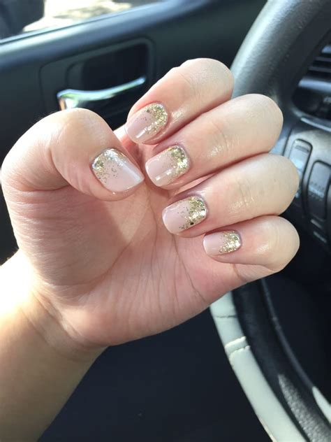 what opi colors are best for short nails two for tiramisu opi gel color with gold glitter ombr 233 yelp