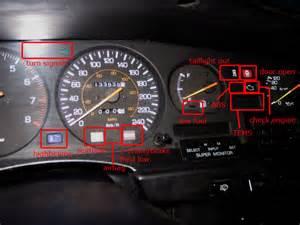 2000 Toyota Camry Dashboard Symbols Instrument Cluster Warning Lights Toyota Nation Forum
