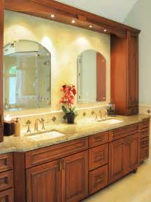 Tuscan Bathroom Design Traditional Green Vanity Bathroom With Wood Cabinetry Hgtv