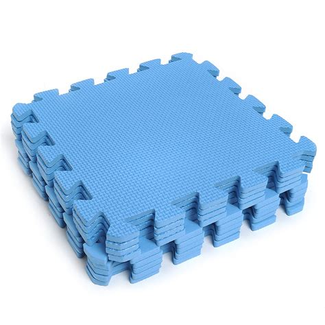 Puzzle Foam Mats by 9 Pieces Puzzle Floor Foam Mats Blue Lazada Ph