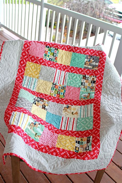 Baby Quilting Fabric by In The Garden Cowboy Or Quilt