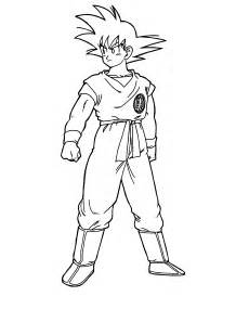 Printable Coloring Pages Dragon Ball Z | free printable dragon ball z coloring pages for kids