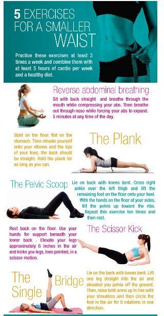 5 exercises for a tiny waist and flat stomach flats tiny waist and flat
