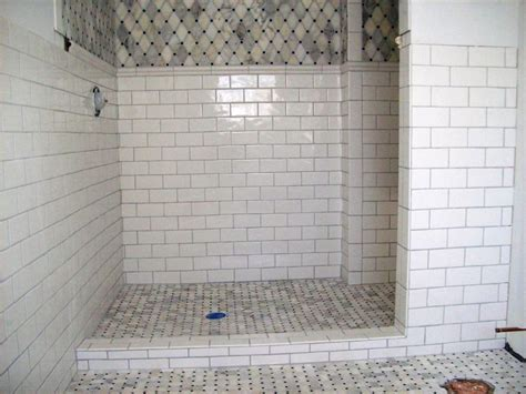 bathroom subway tile designs marble subway tile shower offering the sense of elegance